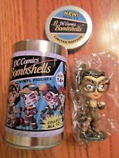 DC Comics Lil Bombshells SERIES 1.5~CATWOMAN Vinyl Figure~NEW in can