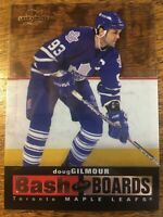 1996-97 Leaf Limited Bash the Boards - DOUG GILMOUR #4 Toronto Maple Leafs /3500
