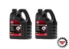 4 LITRES SILKOLENE PRO 4 RACE 100% FULLY SYNTHETIC 10W 40 4 STROKE OIL X2