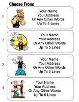 Aliens Personalized Address Labels 30 Alien