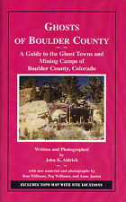 Ghosts of Boulder County Mining Camp Ghost town map GPS