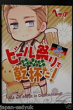 JAPAN Hetalia Axis Powers Tabi no Kaiwa book Germany: Beer Matsuri de Kanpai da!