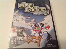 Line Rider 2 Unbound Sled Ski Arcade Puzzle Windows PC Computer Game NEW - J