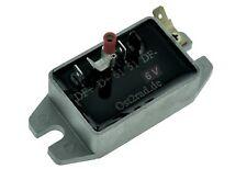 Laderegler 6V passend für MZ ES ETS TS 125 150 250 Regler für Lichtmaschine