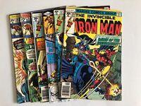 Iron Man 70 78 101 102 122 135 ~ 6 Book Lot * Comic Book Lot 1970's