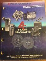 2000 Four Seasons Temperature Control Application Guide parts catalog