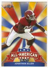 2017 Leaf Draft Football All-American Gold #AA-13 Jonathan Allen