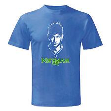 Art T-shirt, Maglietta Neymar Jr, Uomo Man, Blu