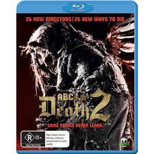 The ABC's Of Death 2 (Blu-ray, 2014) *Horror Flick* BRAND NEW REGION B