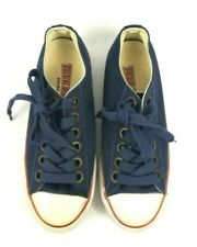 TRUE RELIGION Footwear Womens Canvas Lace Up Rubber Shoes Sneakers Size 6 Navy