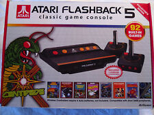 Atari Flashback 5 Classic Game Console with 92 Games Wireless JoySticks Tested!