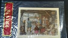 Vintage Anton Pieck Print by Cunningham Art Products Decoupage Frame or Crafts