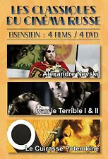 DVD 4 DVD box set The classic of Russian cinema: Eisenstein / IMPORT