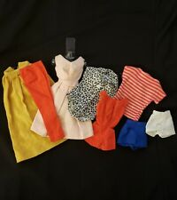 Lot Of Vintage Mattel Tagged Barbie Doll Clothes Pak Items