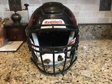 Riddell Revo SPEED FLEX Football Helmet Black w/ Facemask Adult Large
