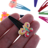 10pcs bébé enfants Cartoon épingle à cheveux fille clips Bow