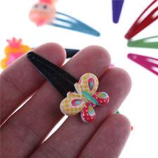 10x bebé niños niñas dibujos animados pelo PIN chica clips horquilla &