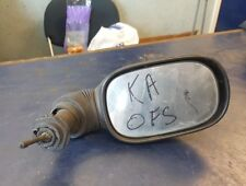 2001 FORD KA DRIVER OFF SIDE RIGHT MANUAL MIRROR AS SHOWN IN PICUTRES