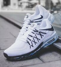 Nike Air Max 2015 CD7625-100 White/Black Size UK 5.5 EU 38.5 24cm New