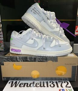 Nike Dunk Low Off White Lot 3 Size 12 Deadstock Brand New!!! Trusted Seller 💯