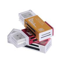 3 Farbe Kartenleser USB 2.0 All In 1 Multi Memory Card Reader Kartenlesegerät #
