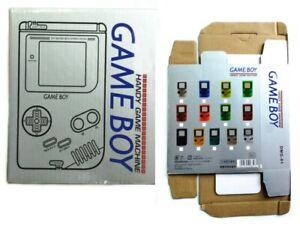 Nintendo Game Boy Gameboy Original launch edition 1989 Empty remake only box GB