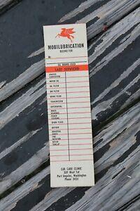 Original Vintage pegasus mobil oil sticker nos
