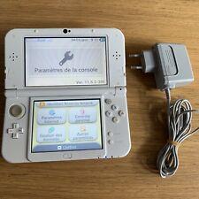 Console Nintendo New 3ds xl Blanc perle - Avec Chargeur Officiel fonctionne bien