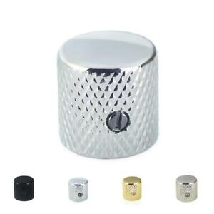 Flat Top Metal Control knob For Telecaster Stratocaster Electric Guitar