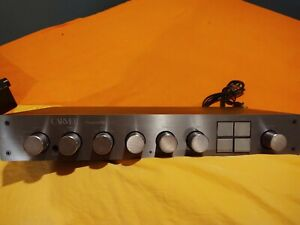 Carver C-2 Preamp Recent Pro Renovation - 2 Phono Sections - NICE