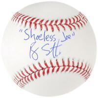 Ray Liotta Signed Field of Dreams Baseball W/ Shoeless Joe Insc - BAS COA
