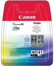ORIGINALE Canon pg-40 cl-41 Multipack cartucce sparpack