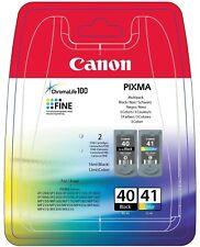 ORIGINAL Canon PG-40 CL-41 Multipack cartouches d'imprimante Pack économique