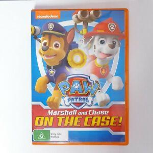 Paw Patrol Marshall & Chase Movie DVD Movie Region 4 Free Postage - Kids