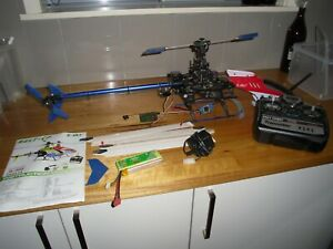 E Sky BELT- CP RC Helicopter sold as seen for parts or to get going again