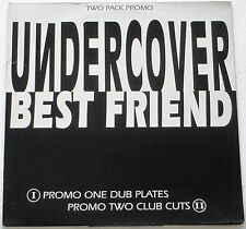 """UNDERCOVER BEST FRIEND TWO PACK PROMO 12"""" SINGLES 1994 MINT CONDITION"""