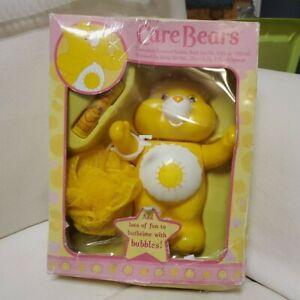 RARE 2006  Care Bears Bubble Bath Set // SEALED Bubble Bath with Mesh Sponge