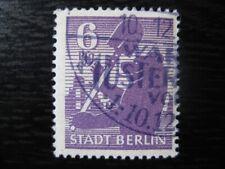 SOVIET OCCUPATION ZONE LOCALS Mi. #2A wbx used stamp! CV $240.00