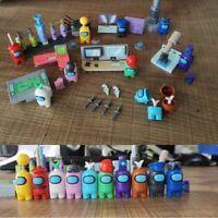 Among US SUS Model Building Blocks Mini-Figures Action Toys 8 Pcs Set Lot Décor