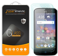 3X Supershieldz for ZTE Majesty Pro LTE Tempered Glass Screen Protector Saver