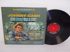 JOHNNY CASH Now, There Was A Song LP Columbia CS-8254 US 1960 6-eye labels