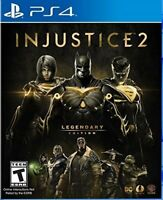Injustice 2: Legendary Edition  (Sony PlayStation 4, 2018)