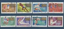 MONGOLIA - 515 - 522 - USED -1969 - OLYMPIC GOLD MEDAL WINNERS