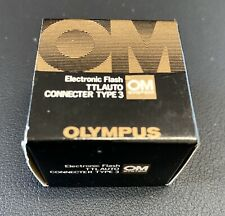 Olympus OM TTLAuto TTL Auto Connecter Connector Type 3 Boxed
