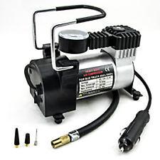 Tirol T10737 12V Auto Electric Portable Pump Heavy Duty Air Compressor 140 PSI ;