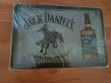 BRAND NEW Jack Daniel's Cowboy Metal Sign -UK Seller