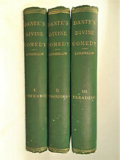 THE DIVINE COMEDY OF DANTE ALIGHIERI TRANSLATED BY HENRY WADSWORTH LONGFELLOW