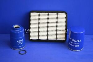 Engine Filter Kit for Mazda Pickup B2500 2.5TD 6/2000 ->2006 (12valve)
