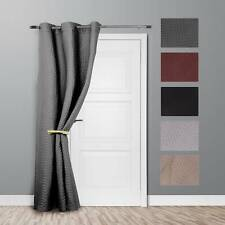 New Ontraio Thermal Door Curtain Curtains Energy Saving Reduce Heat Loss.