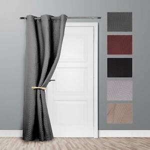 New Ontraio Thermal Door Curtain Curtains Energy Saving Reduce Heat Loss.